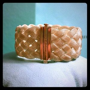 Sterling Silver Tiffany & Co Braided Mesh Bracelet